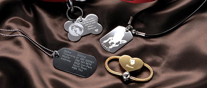 Адресный кулон для собак
