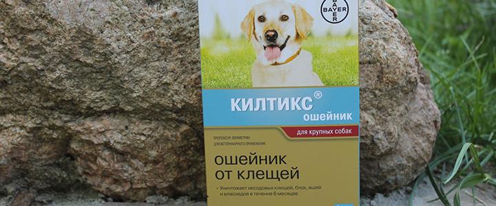 Ошейник от клещей для собак